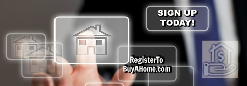 Register to Buy a Home Banner